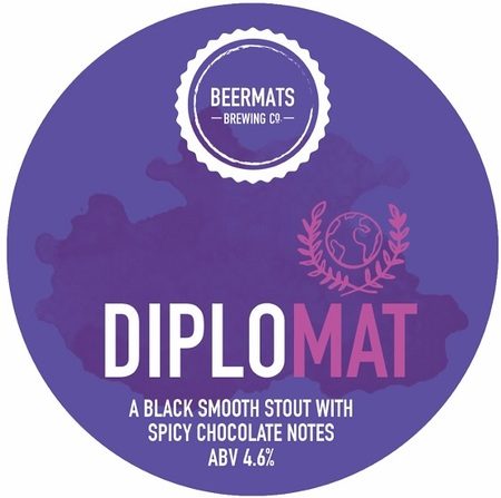 Beermats Diplomat