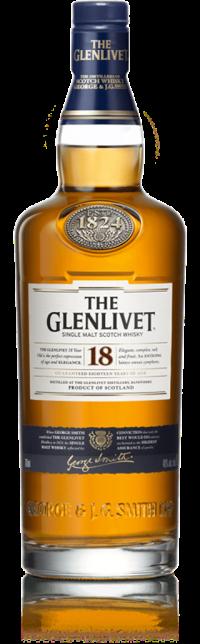 Glenlivet 18 Year Old Speyside Single Malt