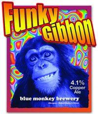 Blue Monkey Funky Gibbon